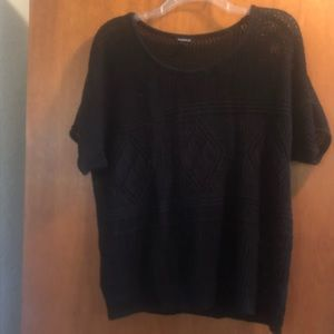 Torrid open weave sweater